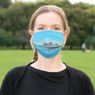 Ferry Painting Adult Cloth Face Mask