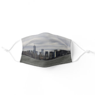 Fifty Shades of Grey NYC Manhattan Skyline Adult Cloth Face Mask