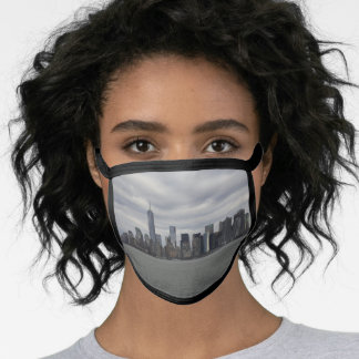 Fifty Shades of Grey NYC Manhattan Skyline Face Mask