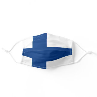 Finland Flag Adult Cloth Face Mask