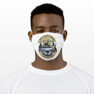 Fisherman Adult Cloth Face Mask