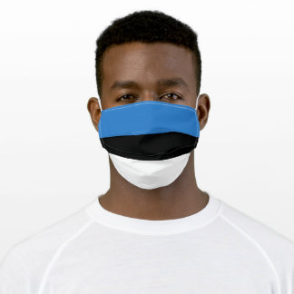 Flag Estonia Adult Cloth Face Mask