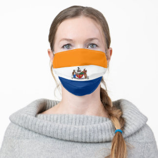 Flag of Albany, New York Adult Cloth Face Mask