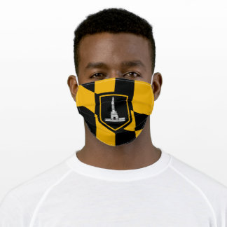 Flag of Baltimore (Maryland, USA) Adult Cloth Face Mask