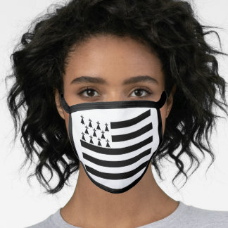 Flag of Brittany Face Mask