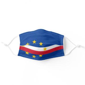 Flag of Cape Verde Adult Cloth Face Mask