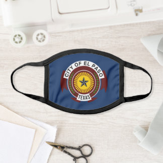Flag of City of El Paso, Texas Face Mask