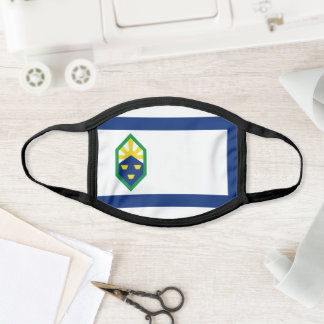 Flag of Colorado Springs, Colorado Face Mask