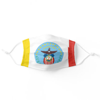 Flag of Columbus, Ohio Adult Cloth Face Mask