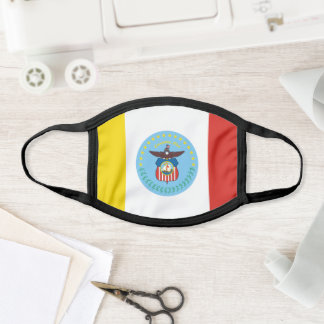 Flag of Columbus, Ohio Face Mask