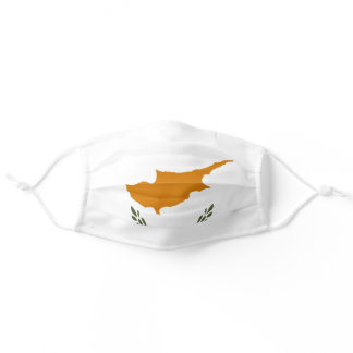 Flag of Cyprus Adult Cloth Face Mask