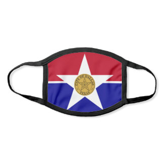 Flag of Dallas, Texas Face Mask