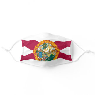 Flag of Florida, American state flag Adult Cloth Face Mask