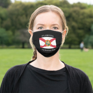 Flag of Florida, the Sunshine state Adult Cloth Face Mask