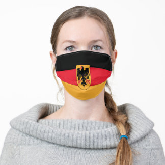 Flag Of Germany Adult Cloth Face Mask