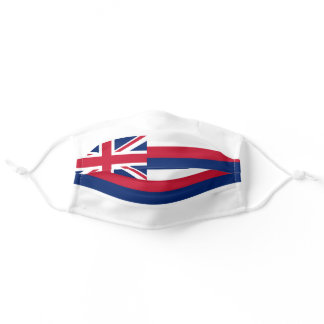 Flag of Hawaii (US State) Adult Cloth Face Mask