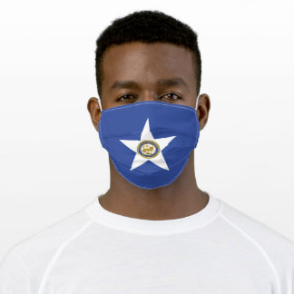 Flag of Houston (Texas) Adult Cloth Face Mask