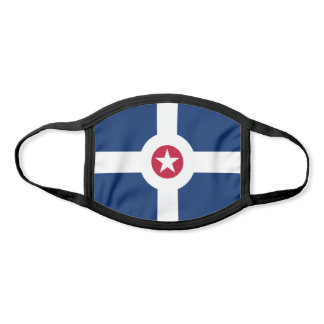 Flag of Indianapolis, Indiana Face Mask