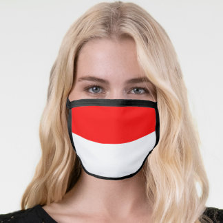 Flag of Indonesia Face Mask