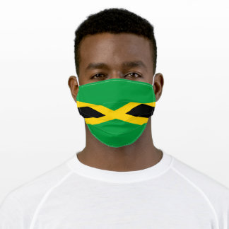 Flag of Jamaica Adult Cloth Face Mask