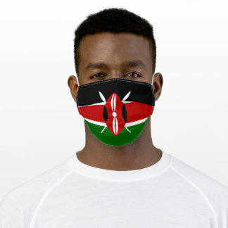Flag of Kenya Adult Cloth Face Mask