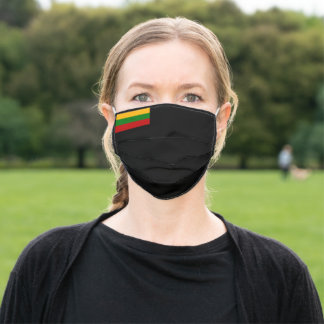Flag of Lithuania Adult Cloth Face Mask