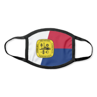 Flag of Memphis, Tennessee Face Mask