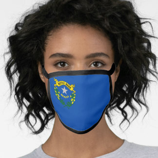 Flag of Nevada, American state flag Face Mask