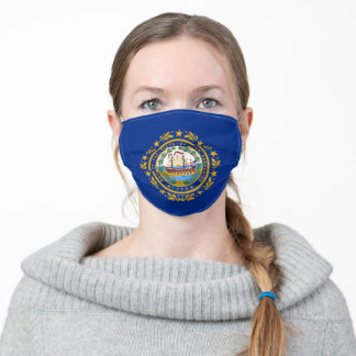 Flag of New Hampshire Adult Cloth Face Mask