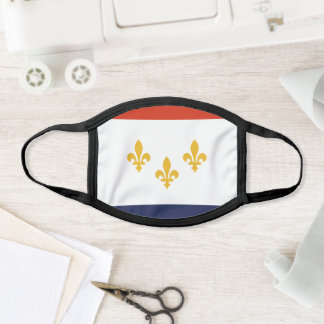 Flag of New Orleans, Louisiana Face Mask