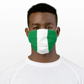 Flag of Nigeria Adult Cloth Face Mask