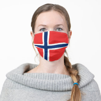 Flag of Norway Adult Cloth Face Mask