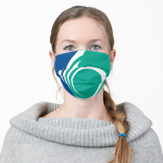 Flag of Ottawa, Ontario Adult Cloth Face Mask