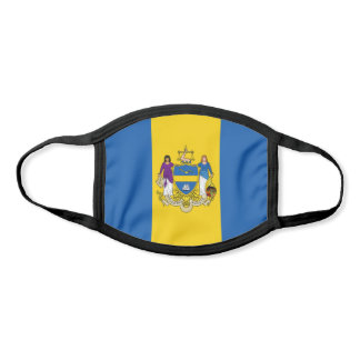 Flag of Philadelphia, Pennsylvania Face Mask