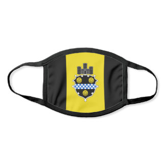 Flag of Pittsburgh, Pennsylvania Face Mask