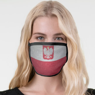 Flag of Poland Face Mask