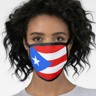 Flag of Puerto Rico Face Mask