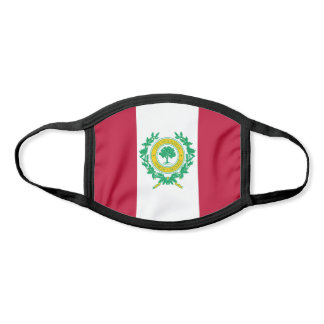 Flag of Raleigh, North Carolina Face Mask