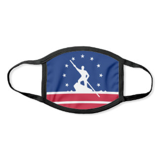 Flag of Richmond, Virginia Face Mask