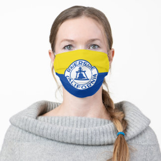 Flag of Riverside, California Cloth Face Mask