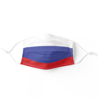 Flag of Russia Adult Cloth Face Mask