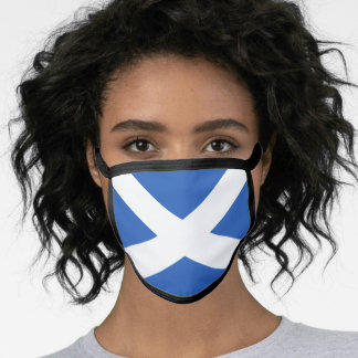Flag of Scotland Face Mask