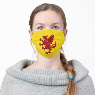 Flag of Somerset Adult Cloth Face Mask