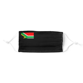 Flag of South Africa Adult Cloth Face Mask