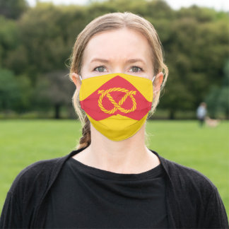 Flag of Staffordshire Adult Cloth Face Mask