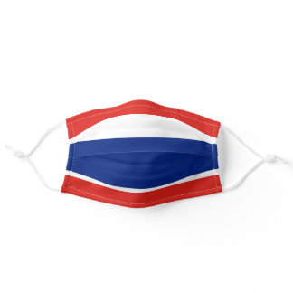 Flag Of Thailand Adult Cloth Face Mask