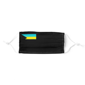 Flag of the Bahamas Adult Cloth Face Mask