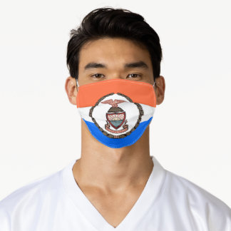 Flag of the Bronx (Borough in New York City) Adult Cloth Face Mask