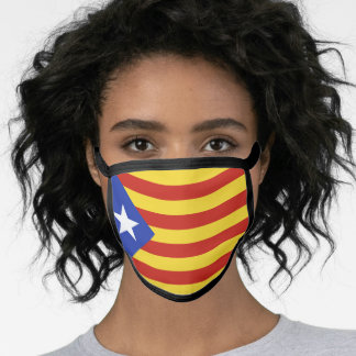 Flag of The Catalonian Independence Movement Face Mask