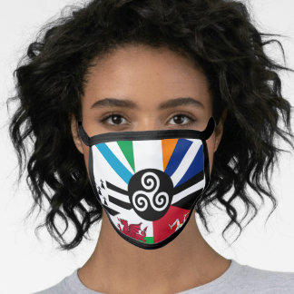 Flag of the Celtic Nations Face Mask
